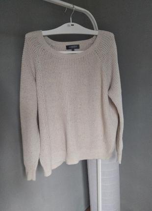 Котоновый свитер limited collection