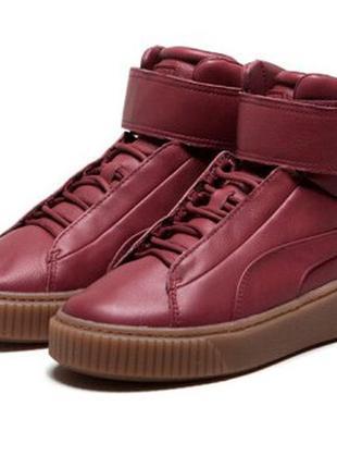 Puma platform ! оригинальные, стильные, кожаные невероятно крутые кроссовки