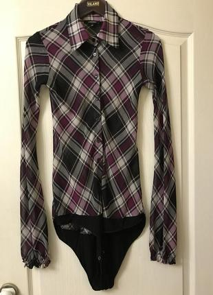 Стильная блуза-боди от denny rose