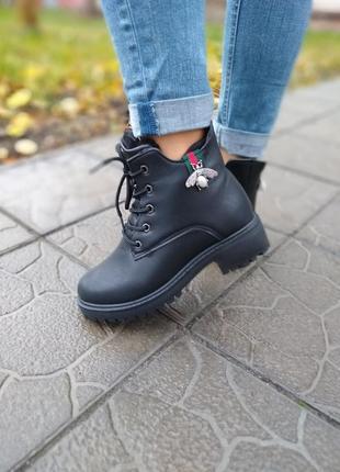 35-39красивые зимние ботинки женские