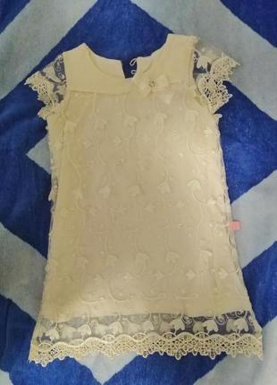 Платье детское. размер 104 турция