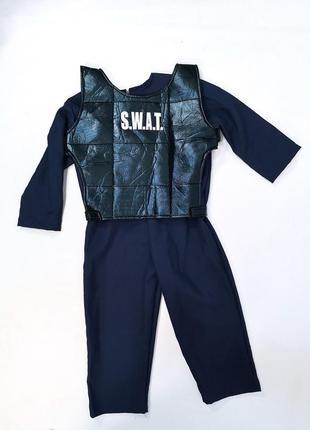 Костюм карнавальный детский swat