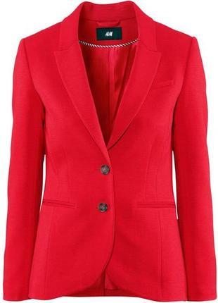 Актуальный приталенный пиджак от h&m (огромный выбор пиджаков)