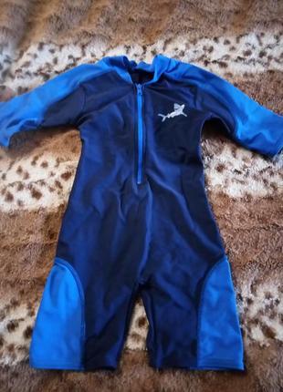 Скидки детский костюм для плавания на 9-12 месяцев фирма debenhams