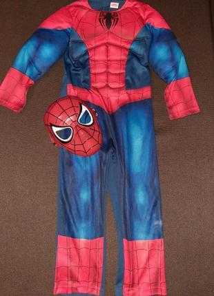 Карнавальный костюм человек паук 5-6 лет.