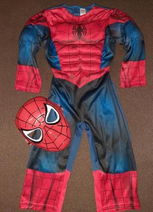 Карнавальный костюм человек паук на 1-2  года