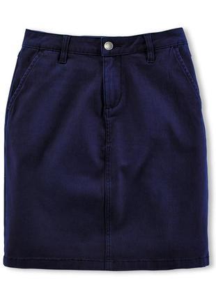 Распродажа хлопковая юбочка на каждый день tchibo, германия - р. 44-46 укр.