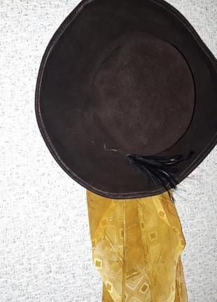 Шляпа широкополая, 100% lapin