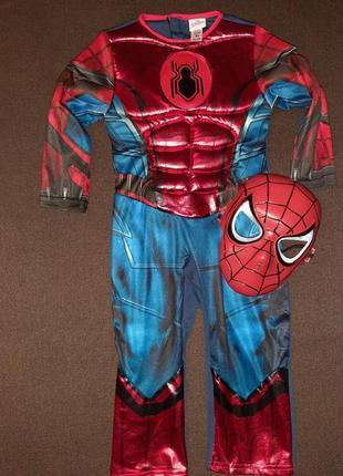 Карнавальный костюм человек паук на 2-3 года.