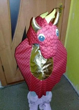 Карнавальный костюм дракон 6-8 лет.