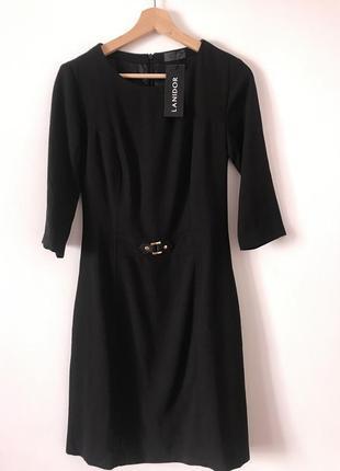 Плаття футляр чорного кольору lanidor brunello.оригінал.