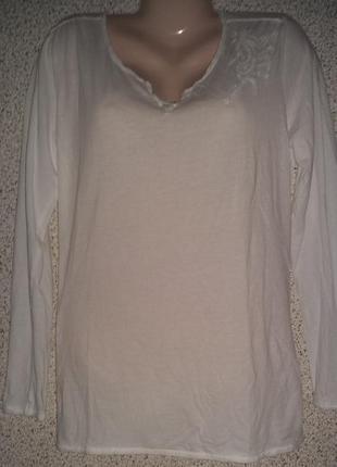 Стильная летняя туника  ,блуза лонгслив от бренда marc o'polo .оригинал