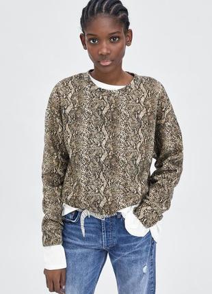 Свит шот свитер