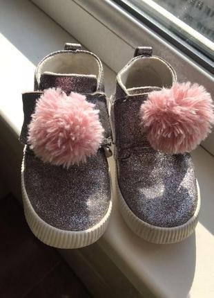 Ботинки мокасины слипоны h&m zara next
