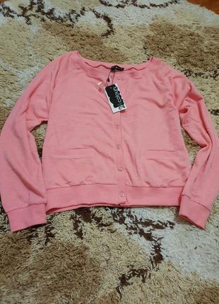 Красивый немецкий розовый пуловер 24 colours