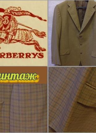 Брендовый шикарный винтажный пиджак