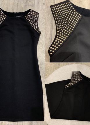 Красивое чёрное платье kira plastinina