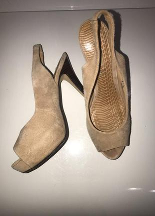 Черная пятница шикарные замшевые туфли next