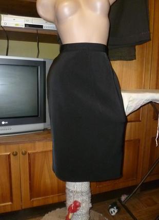 Классная стрейчевая юбка-карандаш(узкая)миди women's collection весна-осень