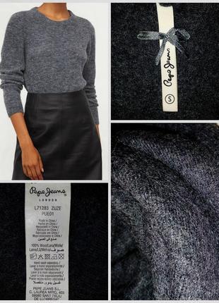 🔴🔴фирменный шерстяной джемпер/свитер/лондонский люксовый бренд/100% шерсть🔴🔴