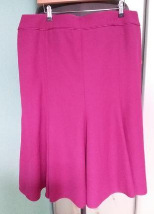 Яркая юбка-годе большого 22 размера