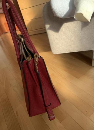 Кожаная сумка michael kors