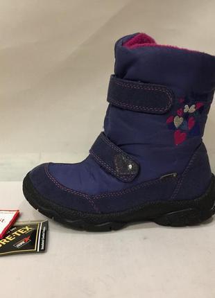 Сапожки ботинки зимние черевики термо superfit gore-tex р.30 (19.5см)