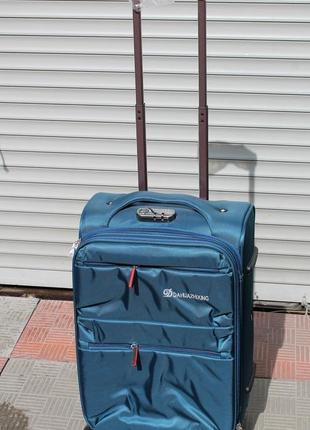 Чемодан, валіза, самолетный чемодан, тканевый чемодан, женский чемодан,маленький чемодан