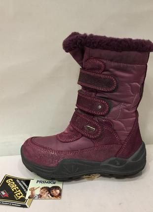 Сапожки зимние черевики термо primigi италия gorе-теx р.29 ст.18.5см