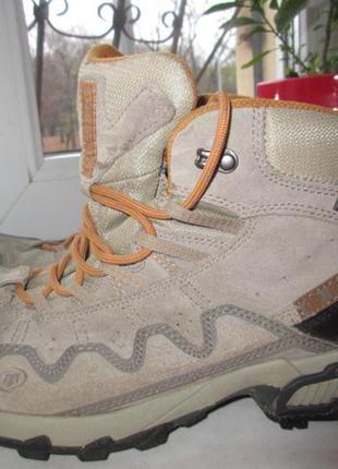 Кожаные деми ботинки tecnica gore-tex 43 р