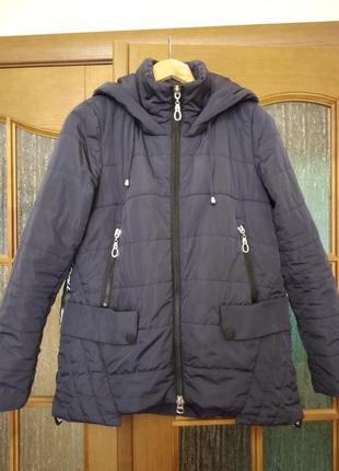 Куртка болоньевая на синтепоне весна/осень