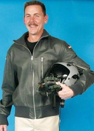 Винтажная кожаная куртка пилот бундес|luftwaffe flight leather jacket