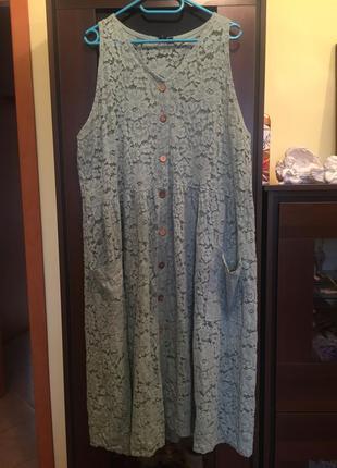 Красивое кружевное платье с карманами asos