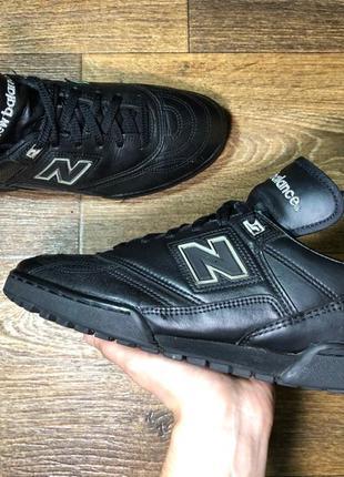 Кроссовки new balance original кожаные vintage 42 черные