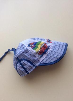 Летняя кепка для мальчика от fashion cap, натуральная ткань, размер 46-48