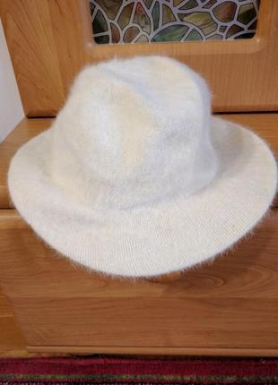 Шляпа светлая made in italy
