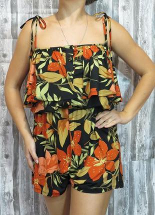 Комбинезон с шортами большой размер 16 размер большой выбор модной одежды