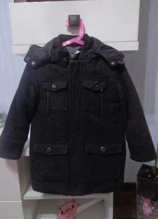 Пальто теплое chicco