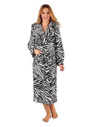 Теплый женский халат. махровый халат. плюшевый халат
