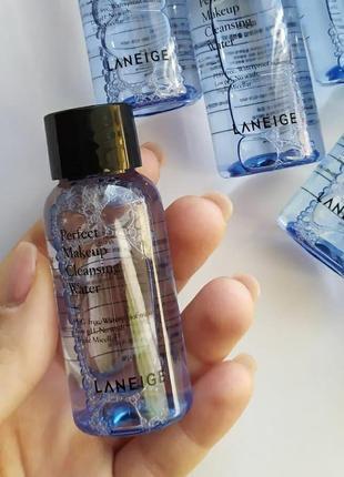Увлажняющая слабокислотная мицеллярная вода laneige perfect makeup cleansing water