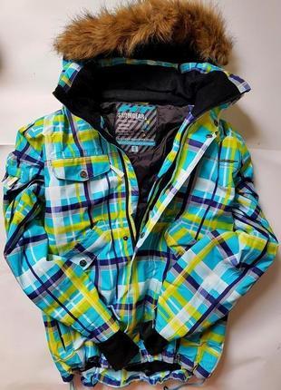 Лыжная куртка мембрана термо горнолыжная лижна
