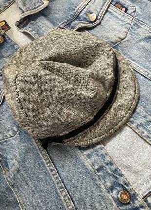 Шикарная детская кеппи фуражка берет кепка в составе шерсть