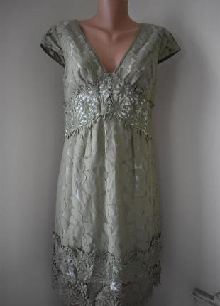 Красивое кружевное платье next