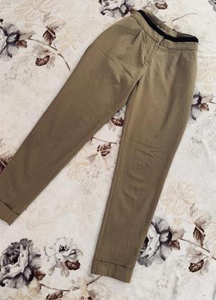 Актуальные бежевые брюки с карманами 🔥