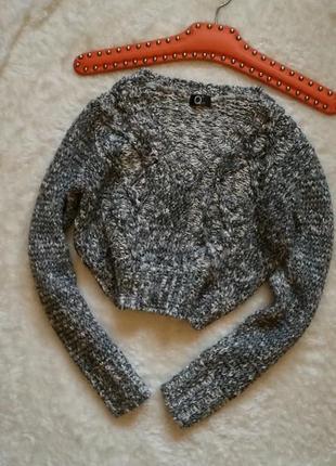 Укороченный свитер кроп свитер размер 34-36