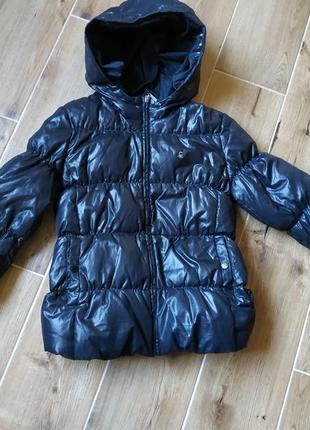 Куртка пуховик benetton 2xl / 160 см.