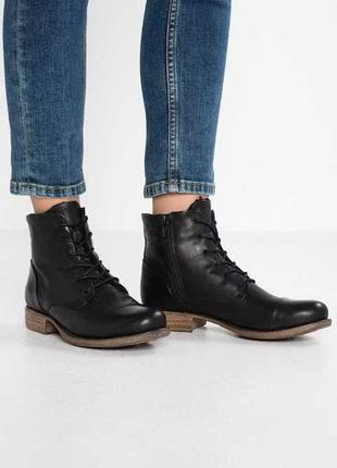 Кожаные ботинки pier one