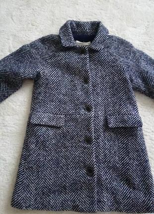 Пальто для дівчинки mango