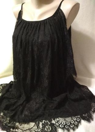 Кружевное платье, туника