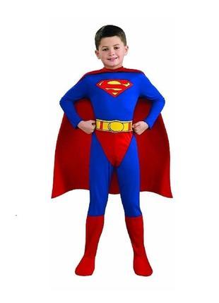 Супермен костюм карнавальный 12-14 лет